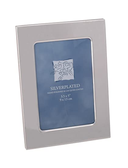 Amazoncom Elegance 8171 Silver Plated Picture Frame 3 X 5