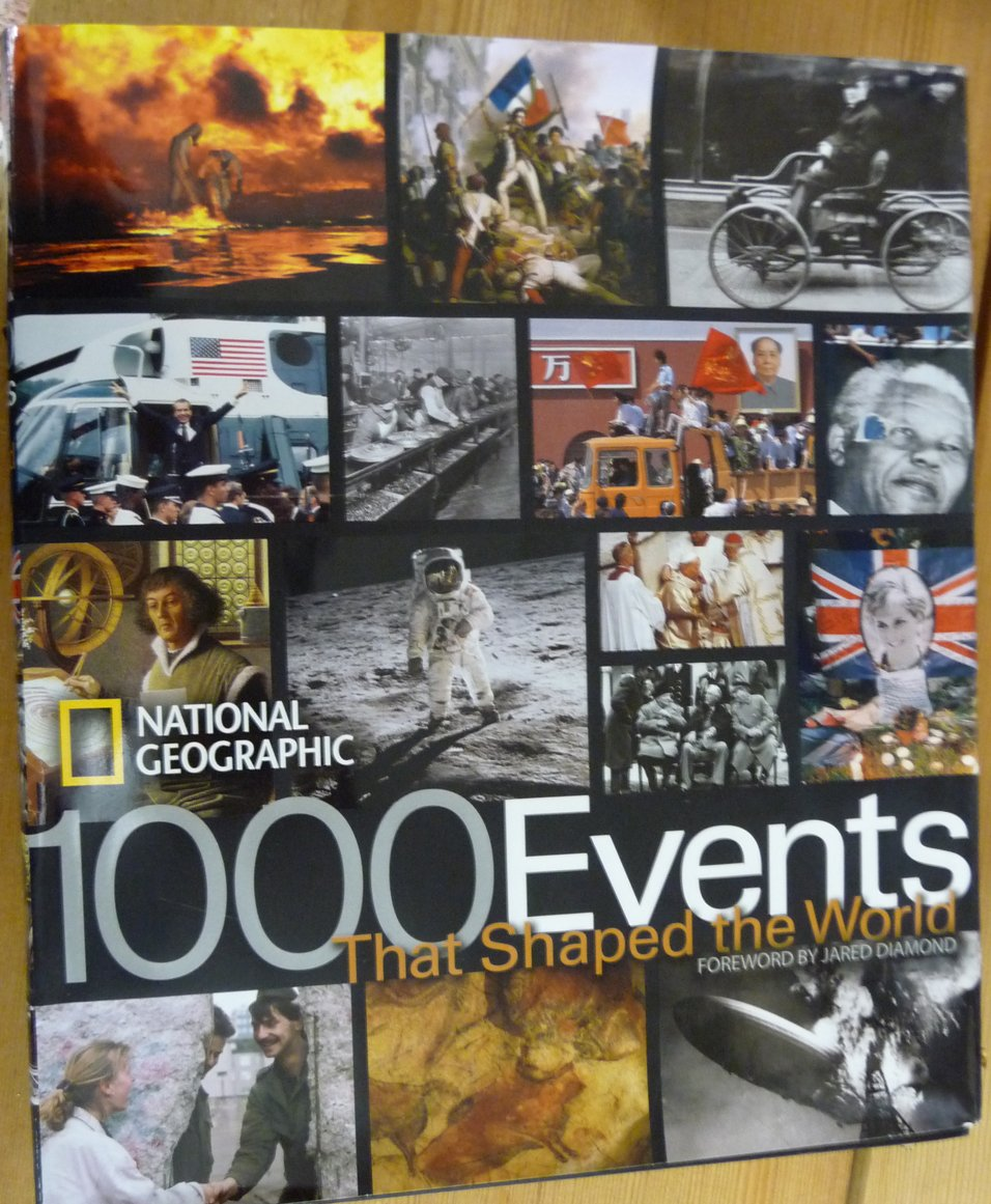 1000 Events That Shaped the World: National Geographic Society:  9781426201936: Books - Amazon.ca