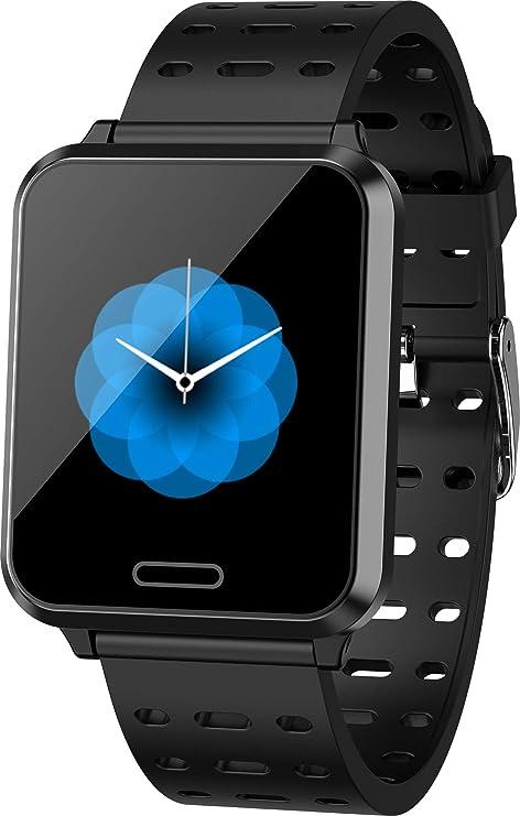 M-HERO P2 2019 New Smart Watch Men Women Heart Rate Blood Pressure Sport Pedometer IP67 Waterproof Smart Watches Support iOS Android Phonetracking ...