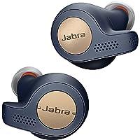 Jabra Elite Active 65t True Wireless Bluetooth Sport Kopfhörer (Musik und telefonieren, bis zu 15 Std. Akkulaufzeit mit Ladecase, Sprachsteuerung für Alexa, Siri, Google Assistant) kupfer blau