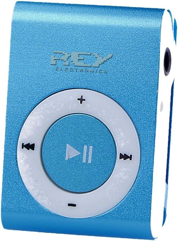 Tarjeta de 8Gb Auricular Music Player Mini Reproductor MP3 Negro con Enganche de Clip Cable de Carga