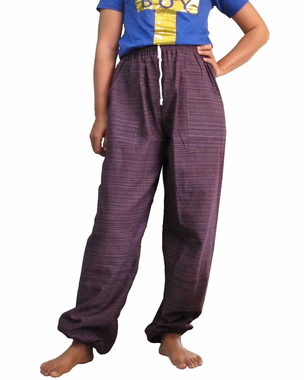 Amazon.com: 1 Thai Big Genie Pants Pregnancy Yoga Massage ...
