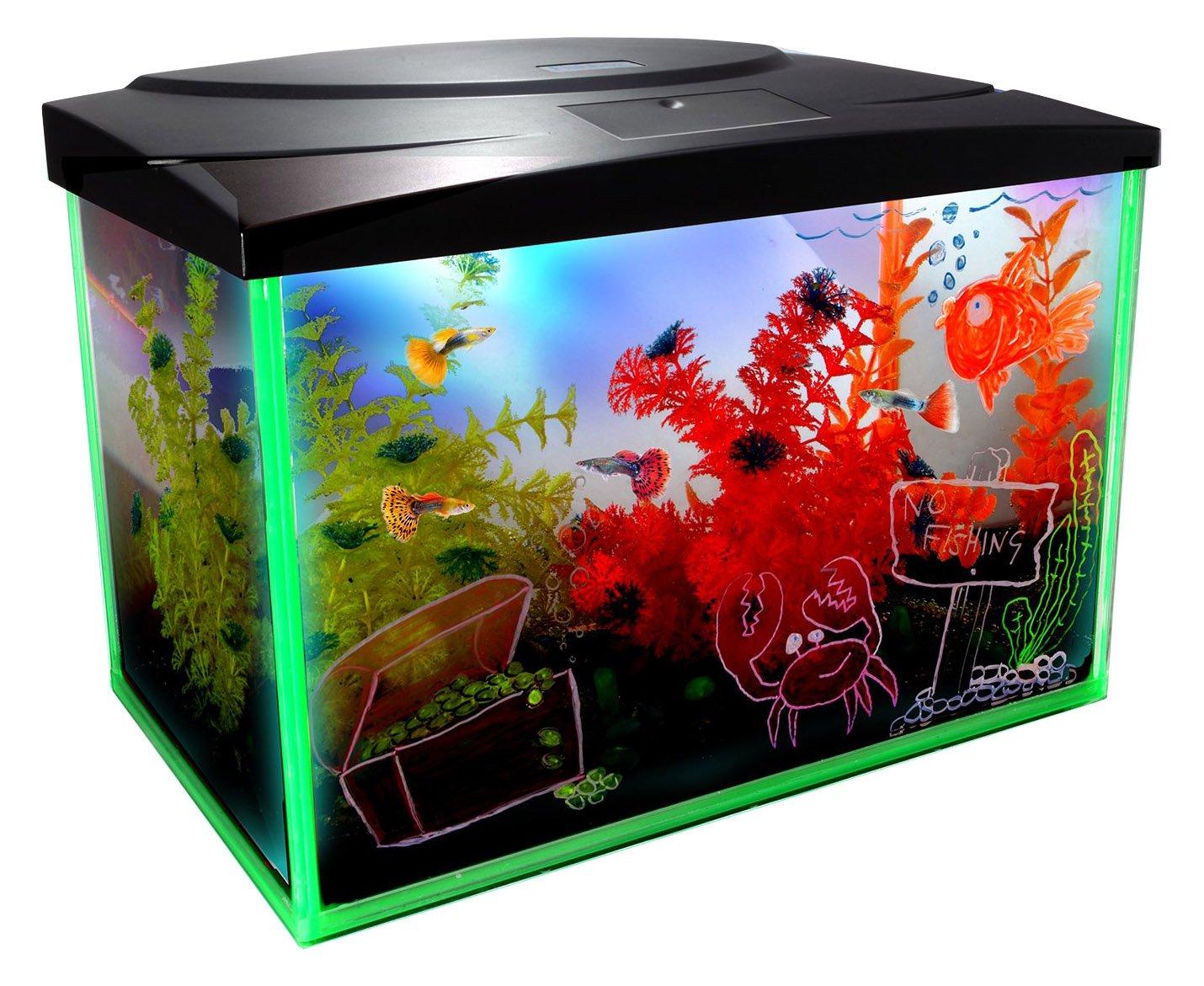 Interpet Kids Glow Interactive Aquarium, 30 Litre
