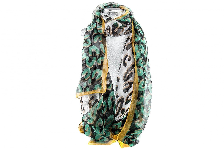 Foulard RONCATO present woman patterns grey scarf chiffon L1193