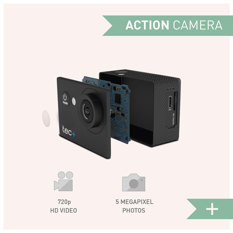 schwarz Tec Actionkamera 720p Action Camer
