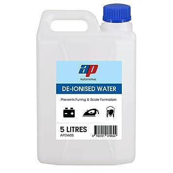 AP Automotive - Batería de Agua desionizada y Plancha Superior destilada para acuarios y Motores de Coche: Amazon.es: Coche y moto