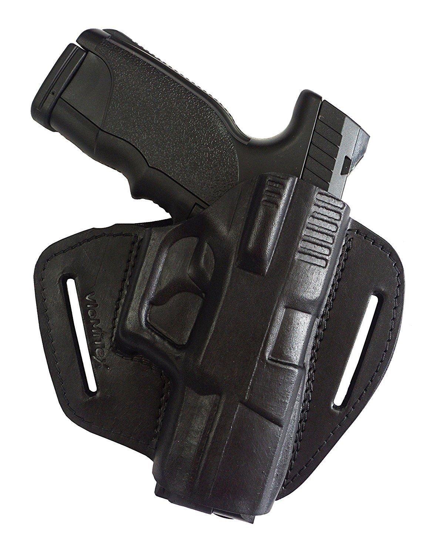 100 % de piel IPSC / IPA Funda de pistola para cinturón, para Steyr M9-A1 y S9-A1 VlaMITex