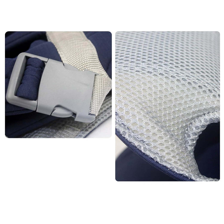 Para Reci/én Nacidos /& Beb/és y Ni/ños Peque/ños de hasta 15/kg azul azul kompassswc ergon/ómica portabeb/és Seguridad Ajustable portador portabeb/és espalda transpirable