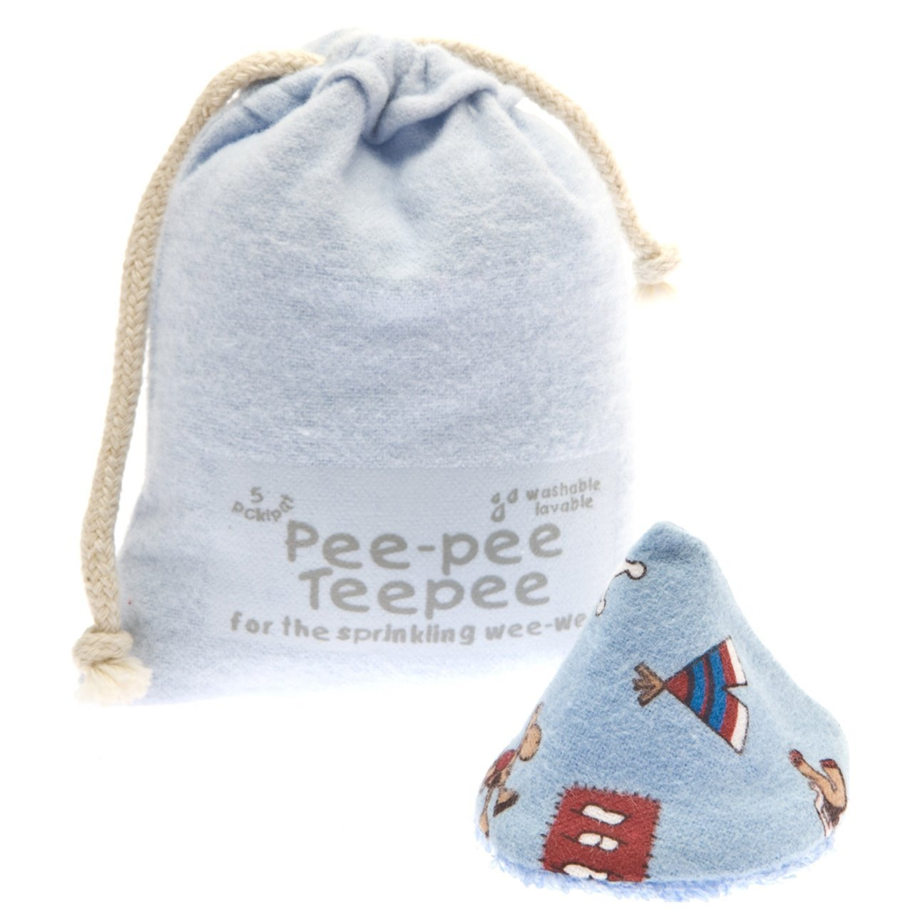 Pee-pee Teepee Wild West Blue - Laundry Bag Beba Bean PT3061