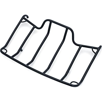 Kuryakyn 7137 Motorcycle Accessory: Trunk Luggage/Storage Rack with Corner Tie Down Points for 1980-2020 Harley-Davidson Motorcycles with Tour-Pak, Gloss Black: Automotive