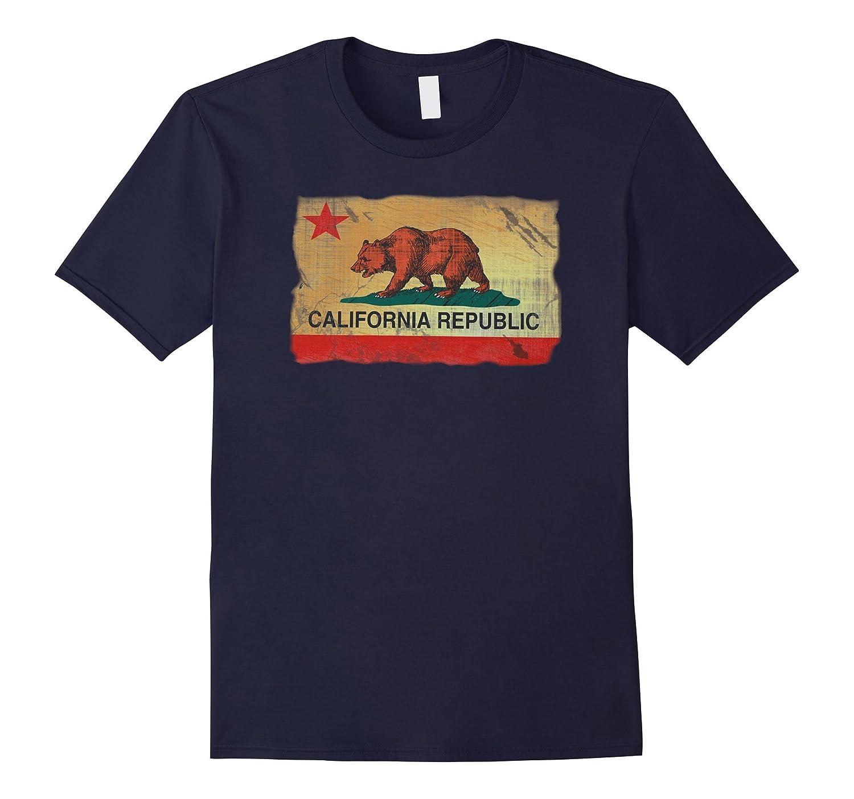 Vintage California Republic T-shirt Cali Life I Love CA-Art