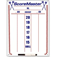 Scoremaster Dry Erase Dart Scoreboard (Medium)