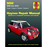 Mini Cooper, Cooper S, Clubman & Clubman S (02-13) Haynes Repair Manual (Does not include Countryman models or info…