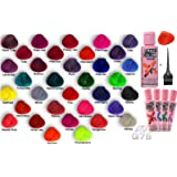 crazy color semi permanent hair colours 1 x bottle of crazy colors with q7s - Crazy Color Aubergine
