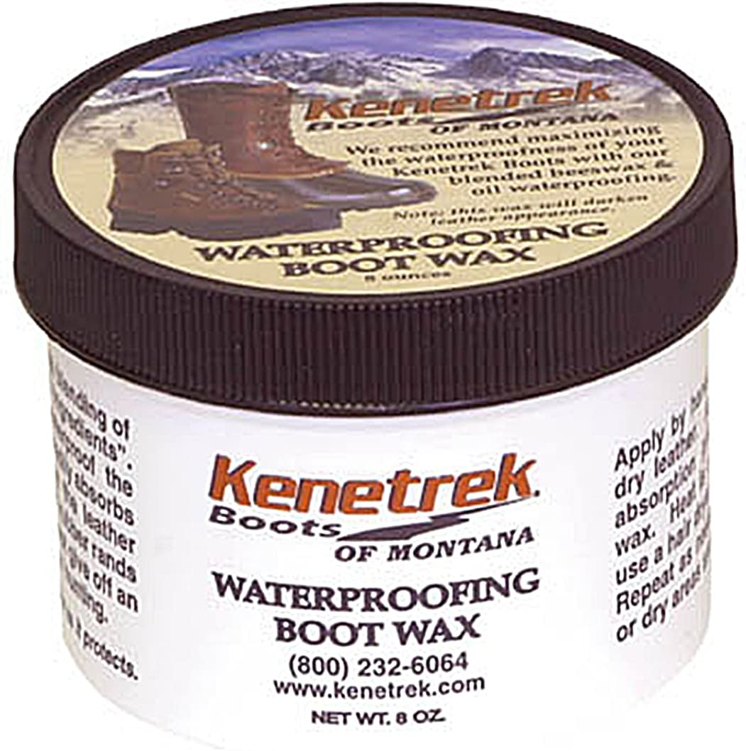 Kenetrek Waterproofing Boot Wax and Leather Treatment Dressing, 256, 8 oz: Clothing