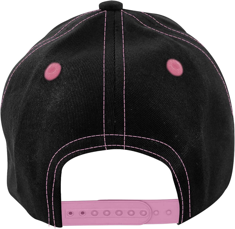 Zel-da Kids Baseball Cap Fun Adjustable Button Baseball Hat for Ages 4-12