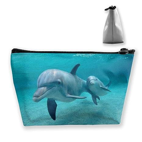 Bajo el Agua Divertidos Delfines Monedero Bolsa de Cambio Estuche ...