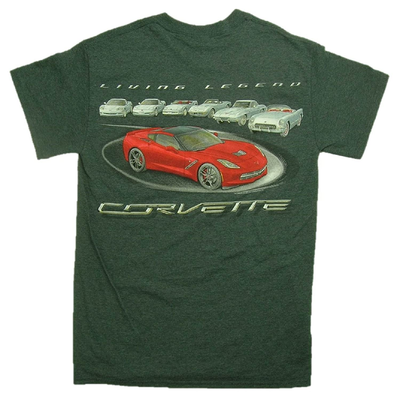 Joe Blow GM C1 To C7 Living Legend Corvettes T-Shirt CVLLV-parent