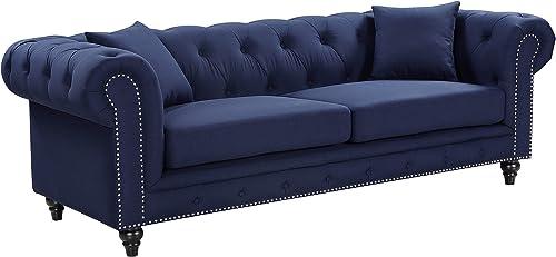 Meridian Furniture Chesterfield Sofa