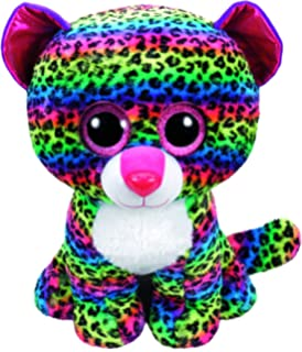 TY Beanie Boos DOTTY - multicolor leopard large Plush