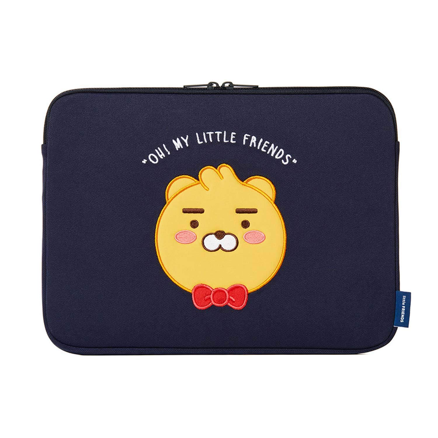 KAKAO FRIENDS Official- Little Friends Basic Protective Laptop Sleeve Case Bag (Ryan) (15 inch)