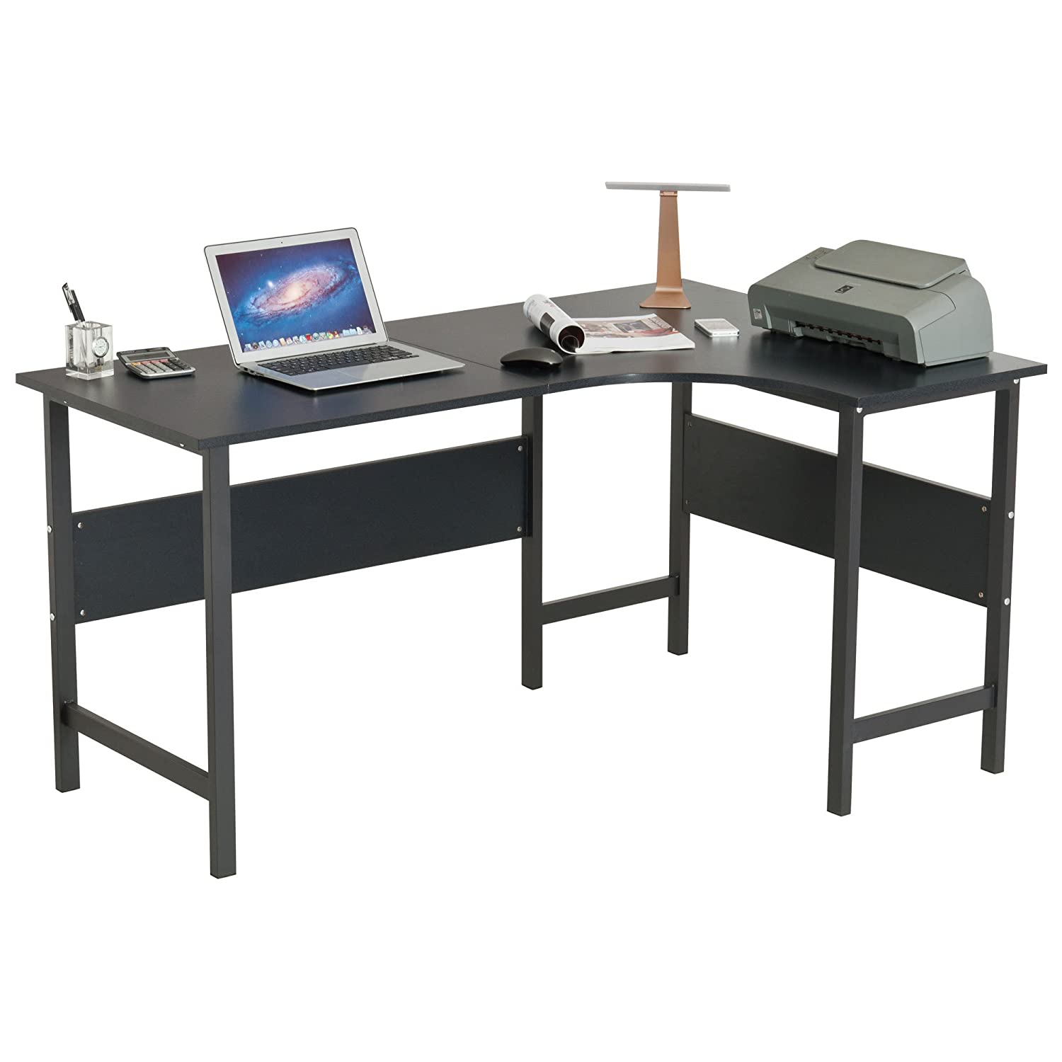 92 Piranha Office Furniture Uk Large Corner Computer And Gaming Desk Table With Keyboard