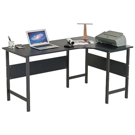 En Forma de L Esquina Mesa de Ordenador y Escritorio/Extensible a ...