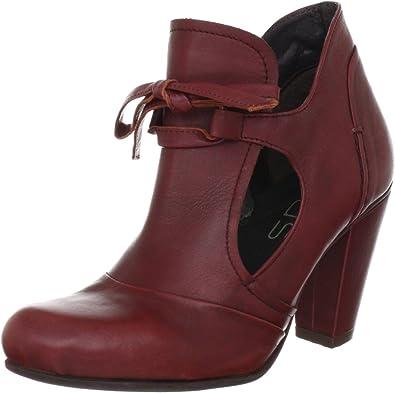 Virus Moda 960758 960758 - Botines Fashion de Cuero para Mujer, Color Rojo, Talla 40: Amazon.es: Zapatos y complementos
