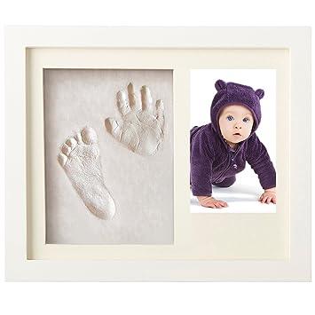 Amazon.com : Dadiii DIY Baby Handprint and Footprint Frame Kit ...
