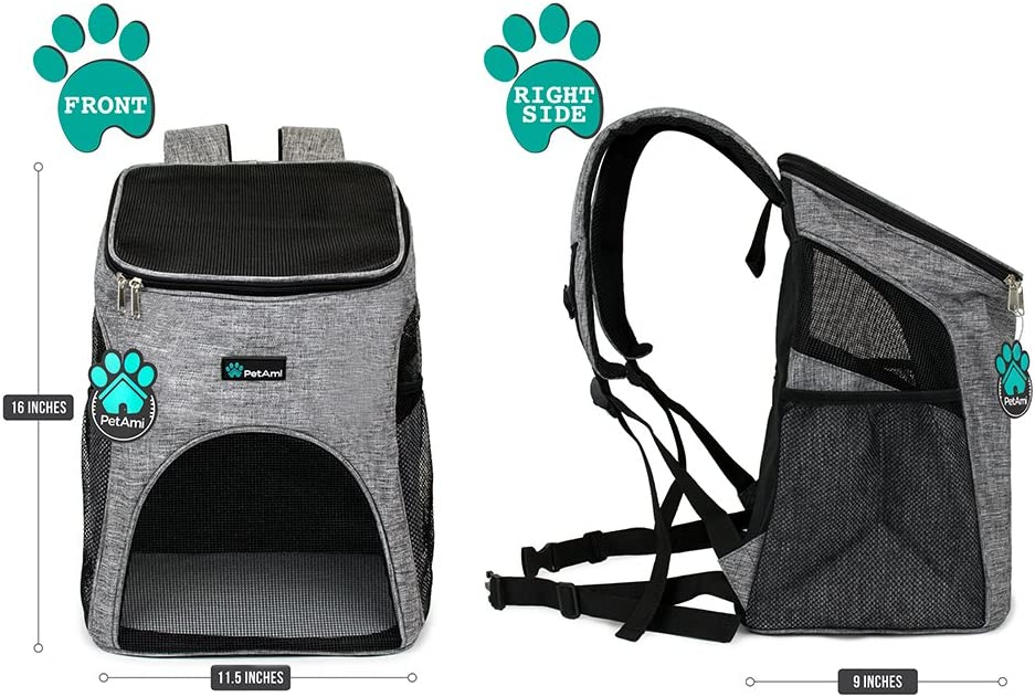 Best Dog backpack carriers & Saddlebags 4