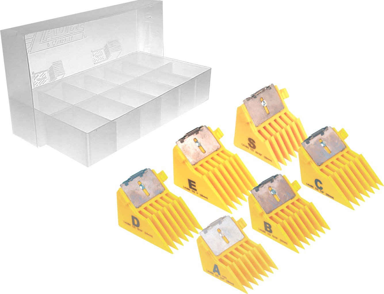 Laube Big K Style Blade Combs (Set of 6) by Laube