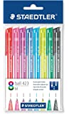 Staedtler Click Ball Pen Set - Pack of 8