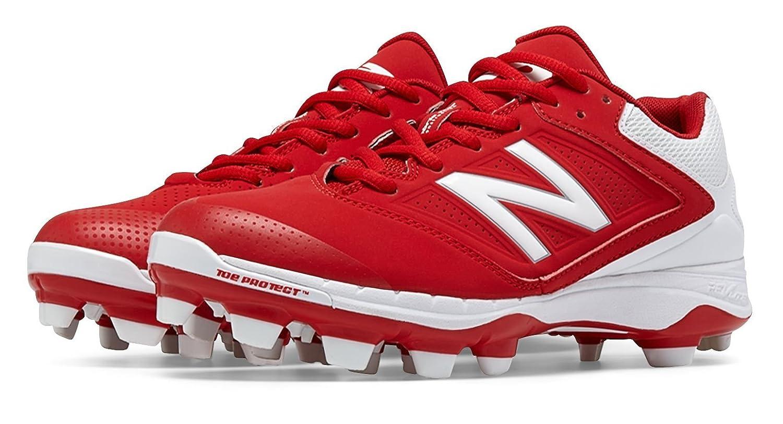 (ニューバランス) New Balance 靴シューズ レディースソフトボール Low Cut 4040v1 Plastic Cleat Red with White レッド ホワイト US 5.5 (22.5cm) B014I8QENG