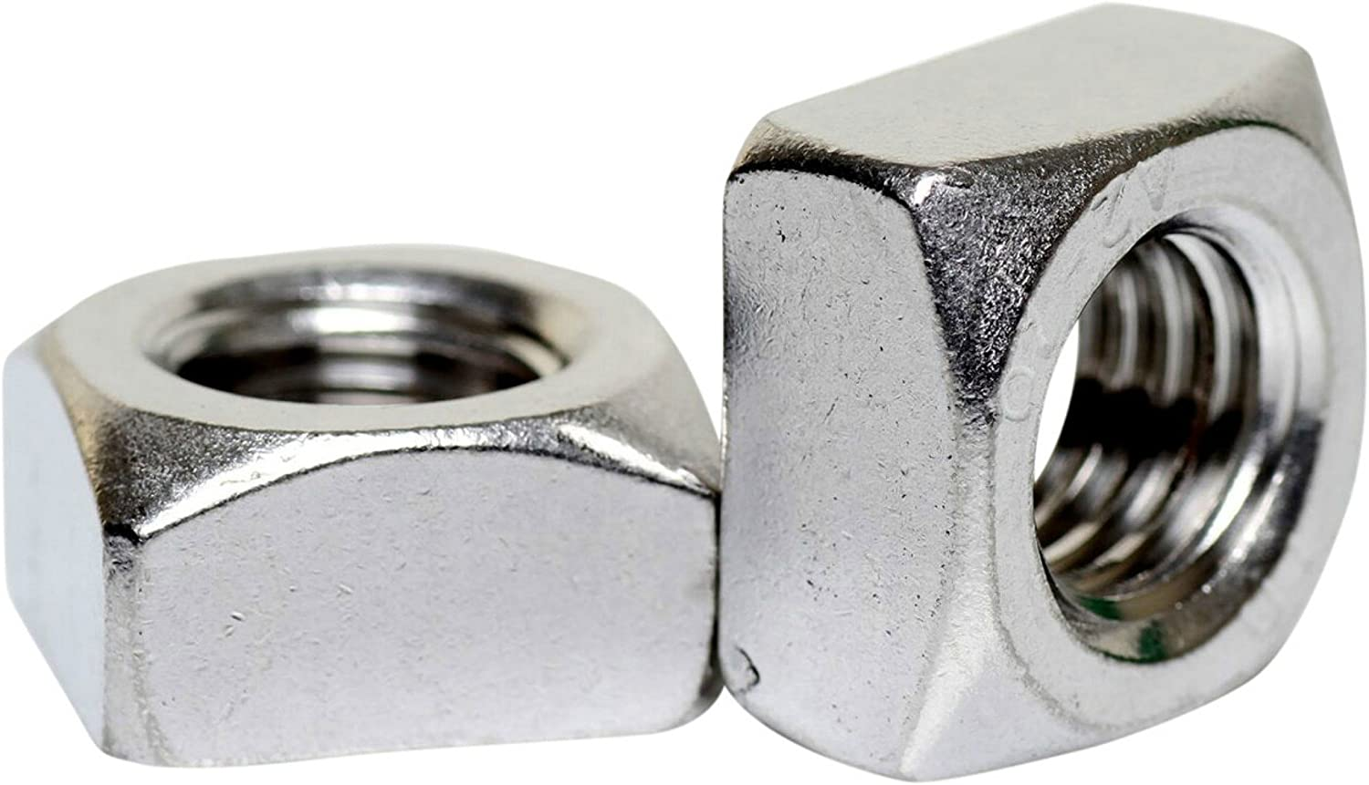 A2 Stainless Steel Chamfered Thick Square Nuts DIN 557 DIN 557 M5-5 Pack