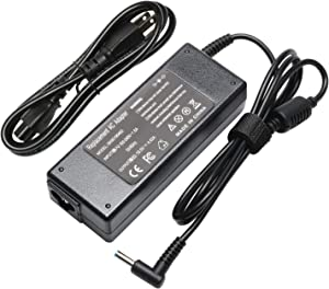 19.5V 4.62A 90W AISENBO Laptop Adapter Charger for HP Spectre X360 13 15 HP Pavilion 11 14 15 17 17-e127sf 741727-001 740015-001 854117-850 HP Envy Sleekbook 15 17 M6 M7 Power Supply Cord