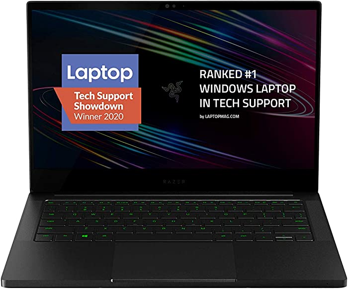 Razer Blade Stealth 13 Ultrabook Gaming Laptop: Intel Quad Core i7-1065G7, NVIDIA GeForce GTX 1650 Ti Max-Q, 13.3