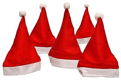 05dde35618a Buy LialioLive Santa Claus Christmas Hats (Free Size) -10 Pieces ...