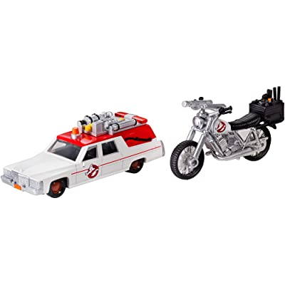 Ghostbusters 1:64 Diecast ECTO-1 and ECTO-2 Vehicles: Toys & Games