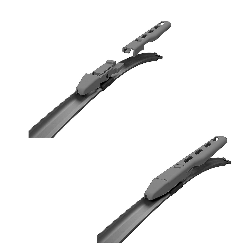 2 limpiaparabrisas para enumerado modelos de autom/óviles C 650 550 mm