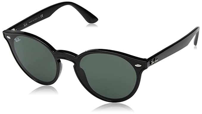 Ray-Ban 0RB4380N Gafas de sol, Black, 45 Unisex: Amazon.es ...