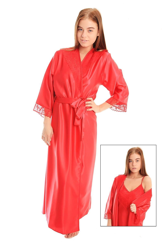 womens long black satin dressing gown robe wrap kimono 10 12 14 16 18 20 22 24 26 28 plus size lace