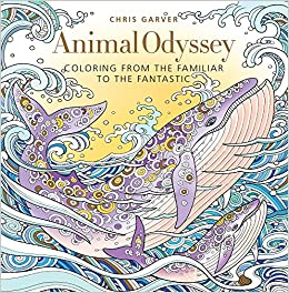 Amazon Com Animal Odyssey Coloring From The Familiar To The