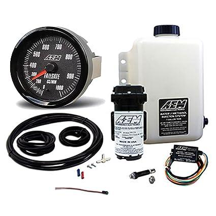 Amazon com: AEM V2 1 Gallon Water/Methanol Injection Kit Internal