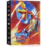 JOYUE Pokemon Kaartenhouder Album, Pokemon Binder voor Kaarten, Kaarten Album Book, Pokemon Card Protector Sleeves…