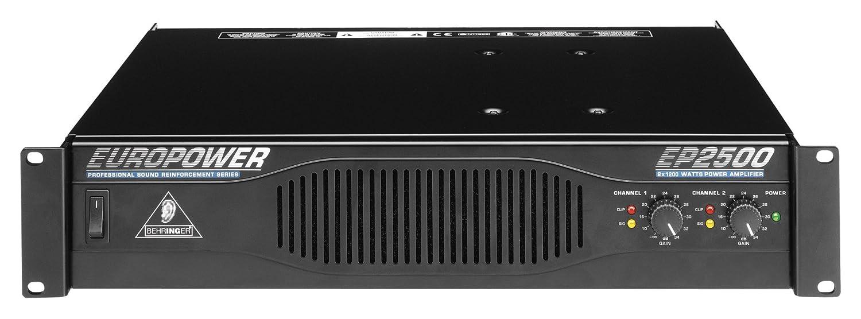 Image result for Behringer EP2500 Euro Power Amplifier