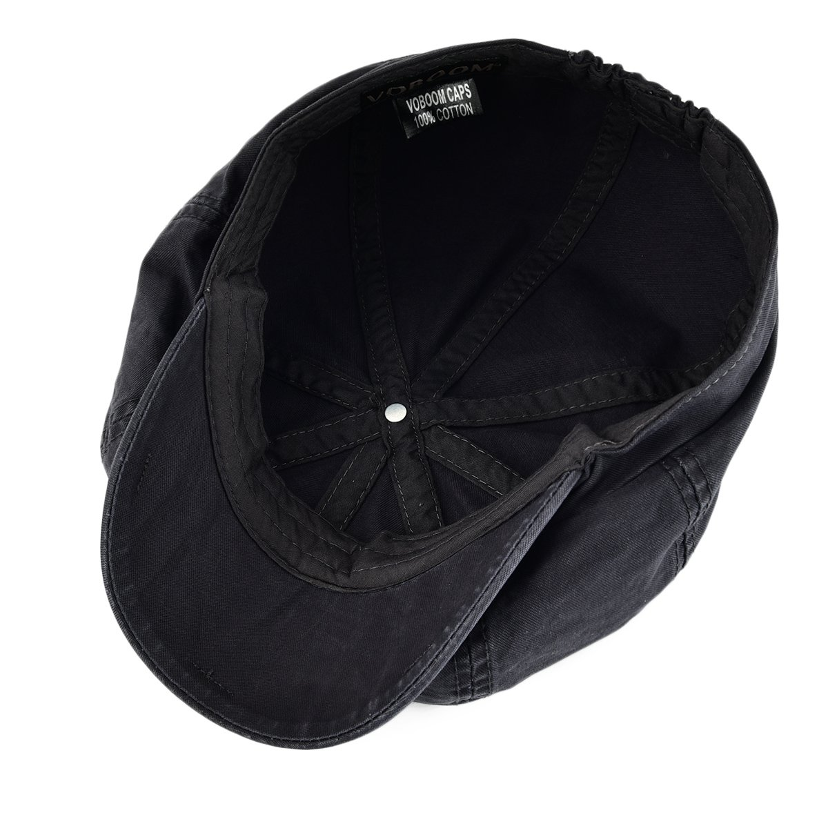 8d499dddfb0 VOBOOM 100% Cotton Newsboy Caps 8 Pannel Cabbie Hat Gatsby Hat  (S M 57-58cm 7 1 8-7 1 4