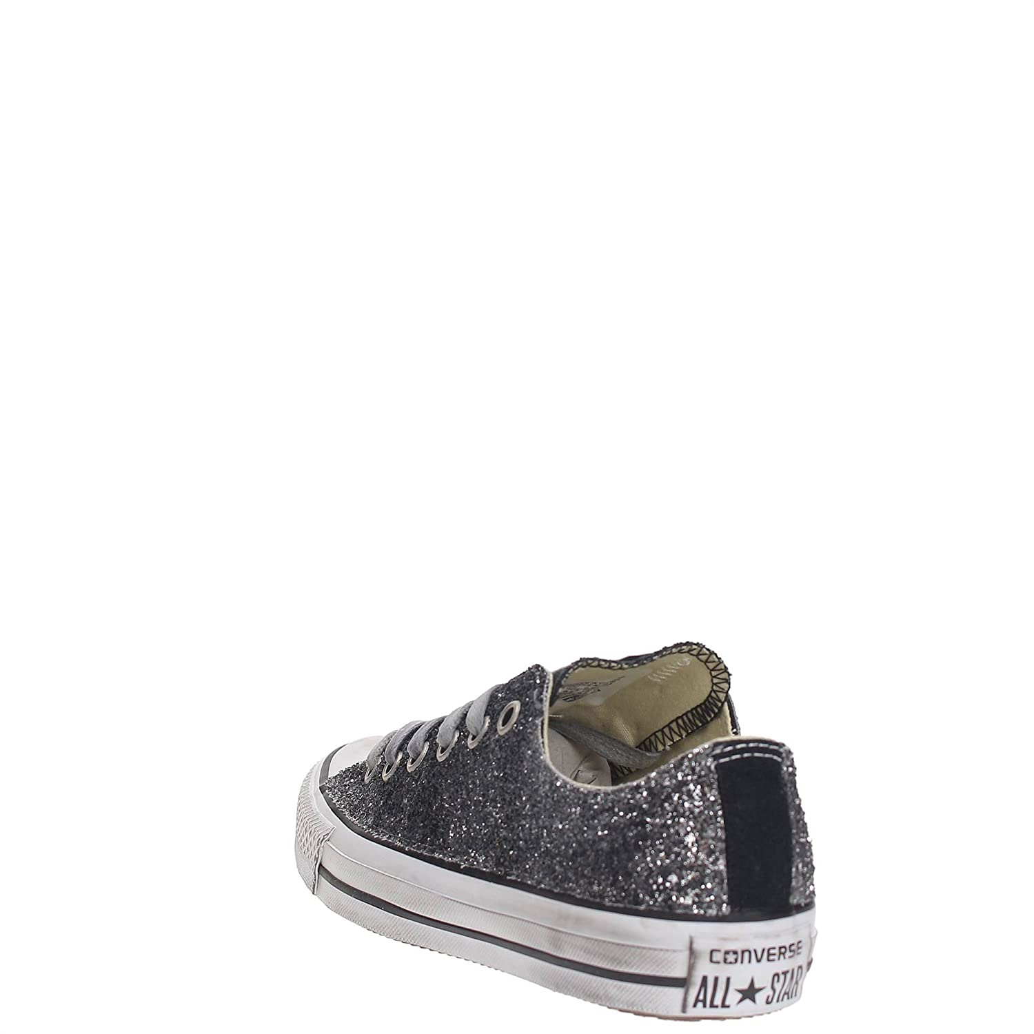 Converse 156907c Sneakers Mujer Vintage Silver Glitter 37 gjH5t07