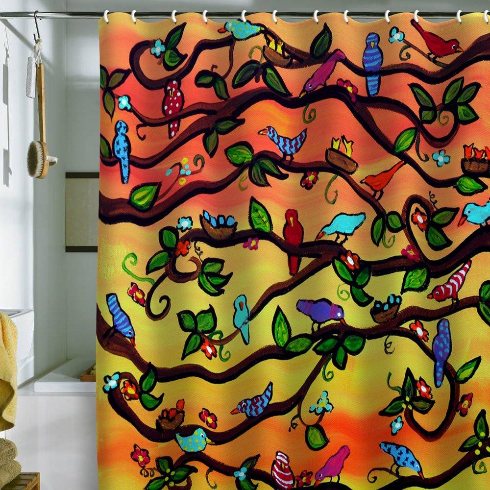 Amazon Deny Designs Renie Britenbucher Sam Shower Curtain 69 X 72 Home Kitchen
