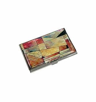 Elegant Porte Cartes De Visite Design Moderne Patchwork Coreen Pojagi Decors