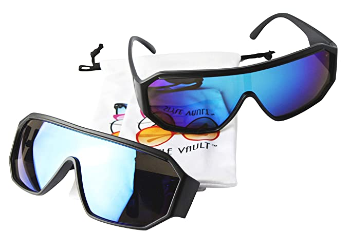 fb6e834784e9 A141-vp Style Vault Turbo aviator sports fashion Sunglasses (2-pack RV